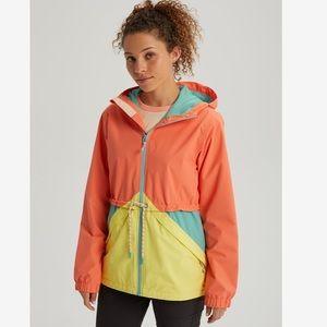 Burton Women's Narraway Rain Jacket Pink Sherbet